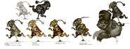 BioI Unused Chinese & Russian Animatronics Concept Art