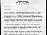 Mark Meltzer Writings: Days 68-78