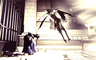 BioShock Infinite - Downtown Emporia - Memorial Gardens - Elizabeth Siren f0827
