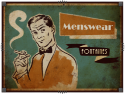 Rapture Billboard Fontaines meanswear DIFF