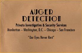 Auger detection manila