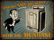 Fontaine Department Store Artist Mundane Advertisement