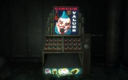 Bio Arcadia Langford Labs Circus of Values Vending Machine