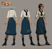 Bioshock infinite young liz final concept by shoomlah-d610dqw