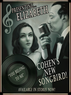 Cohen Elizabeth Poster