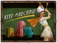 Keep Marching ad