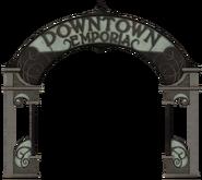 Downtown Emporia sign