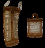 First Savings Bank of Columbia bags