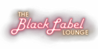 The Black Label Lounge sign