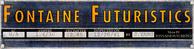 Fontaine Futuristics inspection plaque