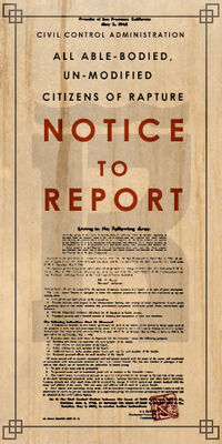 Rapture Notice To Report