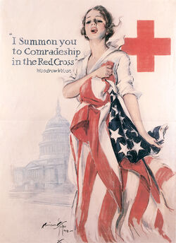 I summon you to comradeship in the Red Cross Lusts