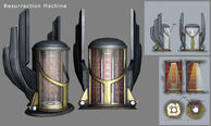 Vita-Chamber Model and Concept Art