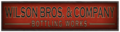 Wilson Bros & Company Bottling Works sign.png