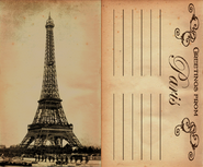 Postcard Paris DIFF