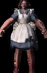 Barbara Johnson After splicing Model Render