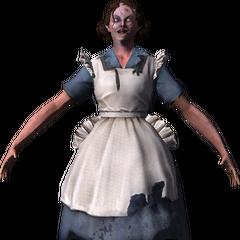 <i>Modelo de Barbara Johnson después de recombinarse, visto dentro del multijugador.</i>