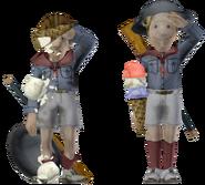 Duke and Dimwit Salute Ice Cream