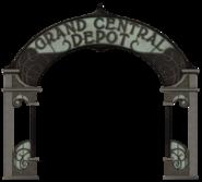 Grand Central Depot sign