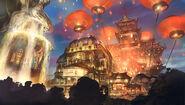 BioShock Infinite Emporia Opium Den Concept Art