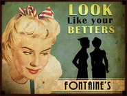 Fontaine Department Store Look Betters Advertisement