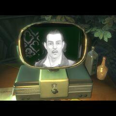 Mensaje de televisión en el Multijugador de BioShock 2.