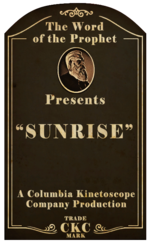 Kinetoscope Sunrise
