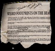 Weirdfootprintstory