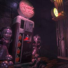 <i>BioShock'tan Uyarlanmış Toplayıcının Bahçesi.</i>