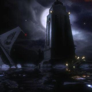 El Faro cuando Jack lo ve al principio del juego.