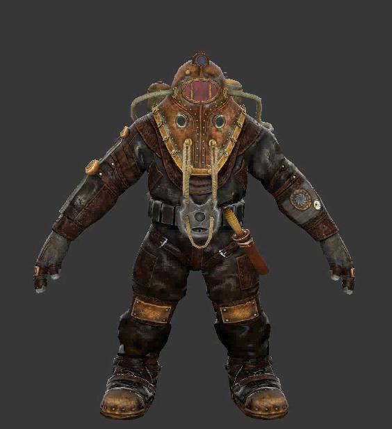 Alpha Series Big Daddy Bioshock Wiki Fandom