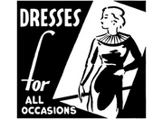 Dresses for All Occasions Clip Art Aveline's Ad