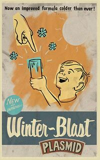 BioShock 2 Multiplayer Winter-Blast Advertisement