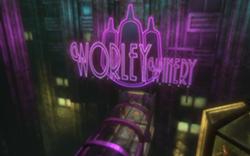 Ingresso della Worley Winery