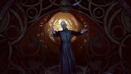 BioShock Infinite - Town Center - Welcome Center - Preacher Witting-hand open f0811