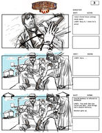 BioShock Infinite Early Battleship Bay Storyboards 3