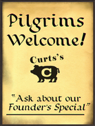 Pilgrims Welcome Curt's