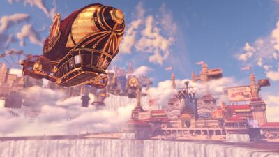 Bioshock-Infinite-Trailer-Columbia-Derigible
