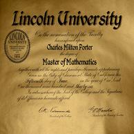 CMP Lincoln University Degree