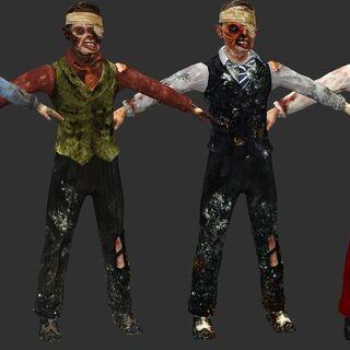 <i>Todas las variaciones de Toasty vistas dentro del juego (BioShock).</i>