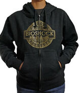 BioShock Logo Zip-Up Hoodie