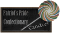 Patriot's Pride Confectionary Candies sign.png
