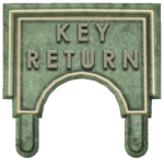 Key Return sign