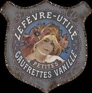 Paris sign - Lefevre - Utile Gaufrettes Vanille