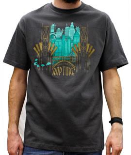 image welcome to rapture t shirt jpg bioshock wiki fandom