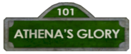 Athena's Glory Sign