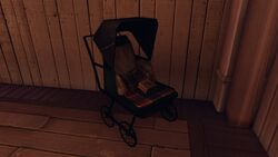 BioI Battleship Bay Baby Carriage with Pistol Ammo
