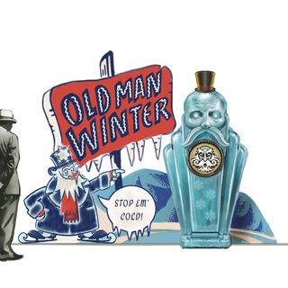 <i>Diseño conceptual de Robb Waters para el modelo de exhibición de Anciano invernal.</i>