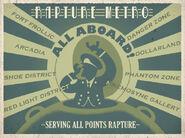 Rapture Metro Poster