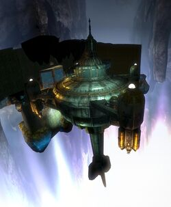 BioShock 2-Inner Persephone - Augustus Sinclair lifeboat f0359